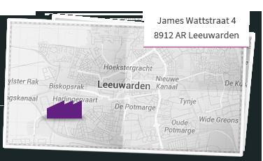 De Fabriek Leeuwarden kaart
